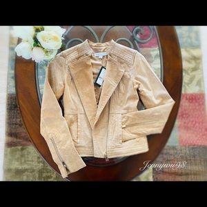 New York & Company genuine suede woman jacket